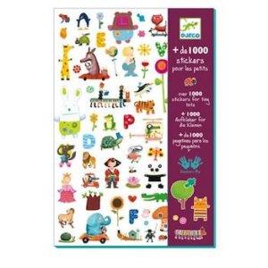 Djeco 1000 στίκερς, 08950, 1000 stickers djeco, DJ 08950
