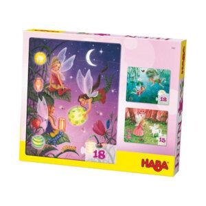 Haba Τρία παζλ 'Νεραϊδούλες' (12, 15, 18 τμχ), haba, haba 4962, pazl, παζλ, παιδικά παζλ, παζλ για παιδιά, pazl, puzzle, puzzles, παιχνίδια με παζλ, παζλ games, παζλ για κορίτσια, παζλ για παιδιά, παιδικά παιχνίδια, δώρα, δώρο, επιτραπέζια, παιχνίδια για κορίτσια, παιχνίδια για αγόρια