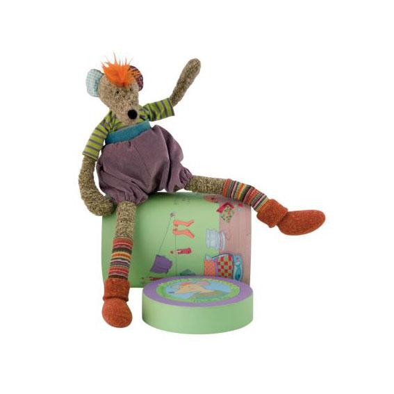 Moulin Roty Κουκλάκι Monsieur Mouse σε κουτί