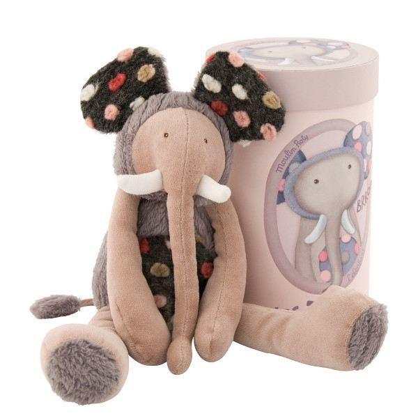 Moulin Roty Κουκλάκι Ελεφαντάκι σε κουτί