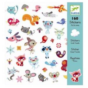 Djeco Σετ 160 στίκερ μικροί φίλοι, DJ 08842, autokollhta me sea, aytokollita me zoa, αυτοκολλητα με ζωα, dJeco stickers