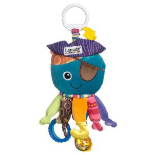 Lamaze Κρεμαστό Παιχνίδι Captain Calamari, lamaze, lamaze παιχνίδια, lamaze toys, LC27068, παιχνιδια, ζωακια, κουκλα, zoakia, παιχνιδια με ζωα, κουκλεσ μωρα, παιδικα, μωρο, βρεφικα ειδη, μωρα, το παιχνιδι, zvakia, koukles, παιχνιδια για παιδια, παιχνιδια με αρκουδακια