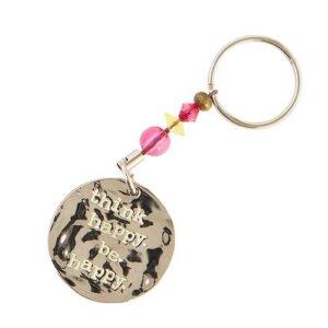 """Μπρελόκ """"Think Happy"""" Natural Life, μπρελοκ, κλειδια, διακοσμητικα, μπρελοκ για ζευγαρια, μεταλικα, κρεμαστα, brelock, μπρελοκ κλειδιων, μπρελοκ αυτοκινητου, δώρα, κλειδοθηκη, μπρελοκ για κλειδια, εξυπνα, χειροποιητα μπρελοκ, μπρελοκ κλειδιων αυτοκινητου, mprelok, κρικοι για μπρελοκ, δωρα, δωρο πασχα, πρωτοτυπο, δωρο χριστουγεννων, δωρα χριστουγεννων, δωρα γενεθλιων, χριστουγεννιατικα δωρα, πρωτοτυπα δωρα, δωρα για το σπιτι, τι δωρο να παρω στην κολλητη μου, χειροποιητα χριστουγεννιατικα δωρα, δωρα γενεθλιων για φιλη, το καλυτερο δωρο, ιδέεσ για δώρα γενεθλίων, natural life, natural life greece, KC092"""