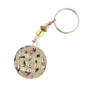 """Μπρελόκ """"Love you to the moon"""" Natural Life, μπρελοκ, κλειδια, διακοσμητικα, μπρελοκ για ζευγαρια, μεταλικα, κρεμαστα, brelock, μπρελοκ κλειδιων, μπρελοκ αυτοκινητου, δώρα, κλειδοθηκη, μπρελοκ για κλειδια, εξυπνα, χειροποιητα μπρελοκ, μπρελοκ κλειδιων αυτοκινητου, mprelok, κρικοι για μπρελοκ, δωρα, δωρο πασχα, πρωτοτυπο, δωρο χριστουγεννων, δωρα χριστουγεννων, δωρα γενεθλιων, χριστουγεννιατικα δωρα, πρωτοτυπα δωρα, δωρα για το σπιτι, τι δωρο να παρω στην κολλητη μου, χειροποιητα χριστουγεννιατικα δωρα, δωρα γενεθλιων για φιλη, το καλυτερο δωρο, ιδέεσ για δώρα γενεθλίων, natural life, natural life greece, KC109"""