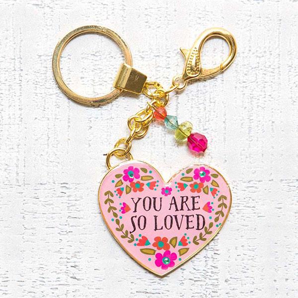 """Μπρελόκ """"You are So Loved"""" Natural Life, μπρελοκ, κλειδια, διακοσμητικα, μπρελοκ για ζευγαρια, μεταλικα, κρεμαστα, brelock, μπρελοκ κλειδιων, μπρελοκ αυτοκινητου, δώρα, κλειδοθηκη, μπρελοκ για κλειδια, εξυπνα, χειροποιητα μπρελοκ, μπρελοκ κλειδιων αυτοκινητου, mprelok, κρικοι για μπρελοκ, δωρα, δωρο πασχα, πρωτοτυπο, δωρο χριστουγεννων, δωρα χριστουγεννων, δωρα γενεθλιων, χριστουγεννιατικα δωρα, πρωτοτυπα δωρα, δωρα για το σπιτι, τι δωρο να παρω στην κολλητη μου, χειροποιητα χριστουγεννιατικα δωρα, δωρα γενεθλιων για φιλη, το καλυτερο δωρο, ιδέεσ για δώρα γενεθλίων, natural life, natural life greece, KC131"""