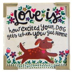 "Natural Life Μαγνητάκι ""Love is Dog Home"", μαγνητακια, μαγνητακι, αυτοκολλητα ψυγειου, ψυγεια, ψυγειο, μαγνητακια ψυγειου, magnites, αυτοκόλλητα ψυγείου, cygeio, αυτοκολλητα ψυγειου 3d, psigio, μαγνητακια στο ψυγειο, μαγνητεσ, μαγνιτακια, μαγνητεσ τιμεσ, magnhtakia, psugeio, psygeio, natural life, natural life greece, MAG177"