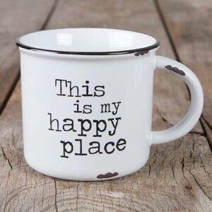 """Κεραμική Κούπα Natural Life """"This is My Happy Place"""", γυναικεια, koypes, γυναικειο, φλυτζανι καφε συμβολα, κεικ σε κουπα, καφε για διαβασμα, flitzani, σετ τσαγιου, φλυτζανι τσαγιου, κουπα καφε, φλυτζανια, φλυτζανι καφε, φλιτζάνι, κουπεσ, κουπεσ καφε, φλυτζανι, φλυτζανια τσαγιου, φλυτζανια καφε, koupes, φλιτζανια, δωρα, δωρο πασχα, πρωτοτυπο, δωρο χριστουγεννων, δωρα χριστουγεννων, δωρα γενεθλιων, χριστουγεννιατικα δωρα, πρωτοτυπα δωρα, δωρα για το σπιτι, τι δωρο να παρω στην κολλητη μου, χειροποιητα χριστουγεννιατικα δωρα, δωρα γενεθλιων για φιλη, το καλυτερο δωρο, ιδέεσ για δώρα γενεθλίων, natural life, natural life greece, MUG288"""
