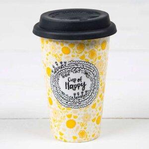 """Κούπα κεραμική θερμός Natural Life """"Cup of Happy"""", γυναικεια, koypes, γυναικειο, φλυτζανι καφε συμβολα, φλυτζανι συμβολα, πορσελανη, flitzani, σετ τσαγιου, θερμοσ, φλυτζανι τσαγιου, κουπα καφε, φλυτζανια, φλυτζανι καφε, φλιτζάνι, κουπεσ, κουπεσ καφε, φλυτζανι, φλυτζανια τσαγιου, φλυτζανια καφε, koupes, φλυτζανι καφε διαβασμα, φλιτζανια, ποτηρια, δωρα γενεθλιων, ειδη τσαγιου, ειδη καφε, σετ ποτηρια, ειδη κουζινασ, καταστηματα e shop, κουτια για δωρα, ειδη για το σπιτι, πλαστικα ποτηρια καφε, ποτηρια πλαστικα, κουτια δωρων, κεραμικα, κουπα, Κούπα κεραμική θερμός Natural Life, be happy, natural life, natural life greece, TMUG035"""