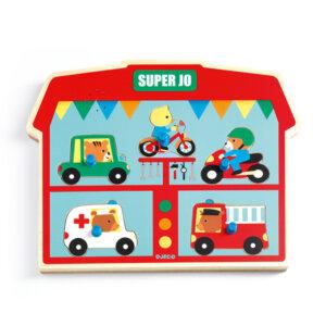 Djeco Σφηνώματα ήχου 'Οχήματα', pazl djeco, παζλ djeco, παιδικά παζλ, παζλ για παιδιά, pazl, puzzle, puzzles, παιχνίδια με παζλ, παζλ games, παζλ για κορίτσια, παζλ για παιδιά, παιδικά παιχνίδια, δώρα, δώρο, επιτραπέζια, παιχνίδια για κορίτσια, παιχνίδια για αγόρια, djeco, djeco παιχνίδια, djeco παζλ, djeco online shop, παιχνίδια djeco αθήνα, djeco θεσσαλονικη, djeco 01709