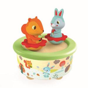 Djeco Μαγνητικό μουσικό κουτί 'Ζωάκια του δάσους', μουσικα κουτια, μουσικο κουτι, παιχνιδια, πεχνιδια, paixnidia gia koritsia, παιχνιδια για αγορια, paixnidia gia agoria, μουσικη, ξύλινα παιχνίδια, παιχνιδια για παιδια, παιδικα παιχνιδια, ξυλινα παιχνιδια, djeco, djeco παιχνίδια, djeco παζλ, djeco online shop, παιχνίδια djeco αθήνα, djeco θεσσαλονικη, djeco 06054