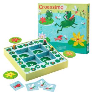 Djeco επιτραπέζιο παιχνίδι 'Croassimo', djeco, djeco 08433, επιτραπέζια παιχνίδια, επιτραπεζια, επιτραπεζια παιχνιδια, εκπαιδευτικά παιχνίδια, παιδαγωγικά παιχνίδια, παιδικά παιχνίδια, δώρα, δώρο, επιτραπέζια, παιχνίδια για κορίτσια, παιχνίδια για αγόρια