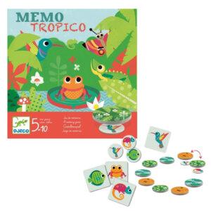 Djeco Επιτραπέζιο παιχνίδι Μέμο 'Tropico', djeco, djeco 08444, επιτραπέζια παιχνίδια, επιτραπεζια, επιτραπεζια παιχνιδια, εκπαιδευτικά παιχνίδια, παιδαγωγικά παιχνίδια, παιδικά παιχνίδια, δώρα, δώρο, επιτραπέζια, παιχνίδια για κορίτσια, παιχνίδια για αγόρια