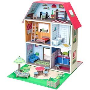 Kroom Το Κουκλόσπιτο της Murielle, παιδικα παιχνιδια, εκπαιδευτικα παιχνιδια, παιχνιδια με σπιτια, κατασκευεσ για παιδια, κουκλοσπιτο, κουκλοσπιτα, κουκλόσπιτο, κουκλόσπιτα, kroom, kroom K304