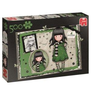 Santoro Gorjuss Παζλ The Scarf (500 τμχ), pazl, παζλ, παιδικά παζλ, παζλ για παιδιά, pazl, puzzle, puzzles, παιχνίδια με παζλ, παζλ games, παζλ για κορίτσια, παζλ για παιδιά, παιδικά παιχνίδια, δώρα, δώρο, επιτραπέζια, παιχνίδια για κορίτσια, santoro, santoro gorjuss τσαντες, santoro gorjuss bags, santoro gorjuss κασετινες, gorjuss story, santoro gorjuss πορτοφολια, gorjuss santoro ελλαδα, santoro πορτοφολια, santoro κασετινες, santoro gorjuss bags, santoro london, 18539