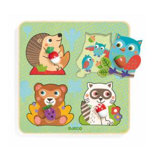Djeco Σφηνώματα 'Μικρά ζωάκια με δοντάκια', pazl djeco, παζλ djeco, παιδικά παζλ, παζλ για παιδιά, pazl, puzzle, puzzles, παιχνίδια με παζλ, παζλ games, παζλ για κορίτσια, παζλ για παιδιά, παιδικά παιχνίδια, δώρα, δώρο, επιτραπέζια, παιχνίδια για κορίτσια, παιχνίδια για αγόρια, djeco, djeco παιχνίδια, djeco παζλ, djeco online shop, παιχνίδια djeco αθήνα, djeco θεσσαλονικη, djeco 01049