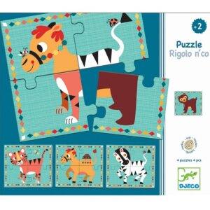 Djeco Παζλ 'Αστεία ζωάκια', pazl djeco, παζλ djeco, παιδικά παζλ, παζλ για παιδιά, pazl, puzzle, puzzles, παιχνίδια με παζλ, παζλ games, παζλ για κορίτσια, παζλ για παιδιά, παιδικά παιχνίδια, δώρα, δώρο, επιτραπέζια, παιχνίδια για κορίτσια, παιχνίδια για αγόρια, djeco, djeco παιχνίδια, djeco παζλ, djeco online shop, παιχνίδια djeco αθήνα, djeco θεσσαλονικη, djeco 01556