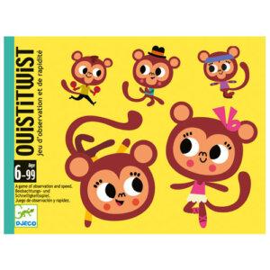 Djeco Επιτραπέζιο με κάρτες 'Ouisti Twist', djeco, djeco 05186, επιτραπέζια παιχνίδια, επιτραπεζια, επιτραπεζια παιχνιδια, εκπαιδευτικά παιχνίδια, παιδαγωγικά παιχνίδια, παιδικά παιχνίδια, δώρα, δώρο, επιτραπέζια, παιχνίδια για κορίτσια, παιχνίδια για αγόρια