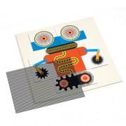"Djeco Kinoptik παζλ με μαγνήτες και εφέ κίνησης εικόνας ""Ρομπότ"" (60 τμχ)"
