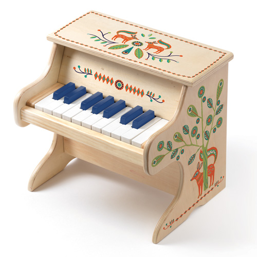 Djeco Ξύλινο ηλεκτρονικό πιάνο