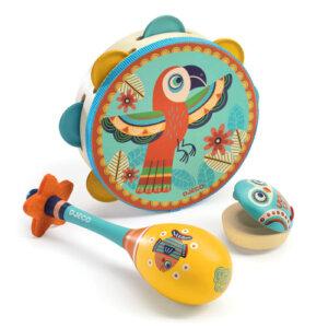 Djeco Σετ 3 Κρουστών μουσικής, παιχνιδια, πεχνιδια, paixnidia gia koritsia, παιχνιδια για αγορια, paixnidia gia agoria, μουσικη, ξύλινα παιχνίδια, παιχνιδια με μουσικα οργανα, παιχνιδια για παιδια, παιδικα παιχνιδια, μουσικα οργανα, ξυλινα παιχνιδια, mousika organa, πνευστα, πνευστα οργανα, μουσικα οργανα για παιδια, djeco, djeco παιχνίδια, djeco παζλ, djeco online shop, παιχνίδια djeco αθήνα, djeco θεσσαλονικη, djeco 06016