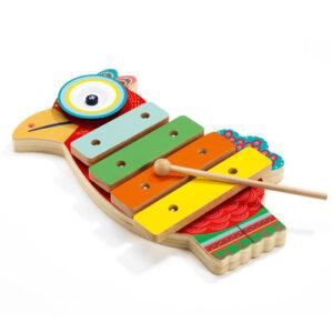 Djeco Ξυλόφωνο με κύμβαλα 'Παπαγάλος', παιχνιδια, πεχνιδια, paixnidia gia koritsia, παιχνιδια για αγορια, paixnidia gia agoria, μουσικη, ξύλινα παιχνίδια, παιχνιδια με μουσικα οργανα, παιχνιδια για παιδια, παιδικα παιχνιδια, μουσικα οργανα, ξυλινα παιχνιδια, mousika organa, πνευστα, πνευστα οργανα, μουσικα οργανα για παιδια, djeco, djeco παιχνίδια, djeco παζλ, djeco online shop, παιχνίδια djeco αθήνα, djeco θεσσαλονικη, djeco 06018