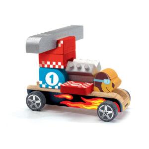 Djeco Τουβλάκια ξύλινα 'Φόρμουλα 1', παιχνιδια φροντιδα, παιχνιδια με μωρα φροντιδα, βρεφικα παιχνιδια, βρεφικα, παιδικα αξεσουαρ, pexnidia, παιχνιδια, βρεφικά, βρεφικα, παιχνίδι, paidika paixnidia, παιδικά παιχνίδια, παιχνίδια παιδικά, βρεφικά παιχνίδια, djeco, djeco 06410, djeco παιχνίδια, djeco παζλ, djeco online shop, παιχνίδια djeco αθήνα, djeco θεσσαλονικη