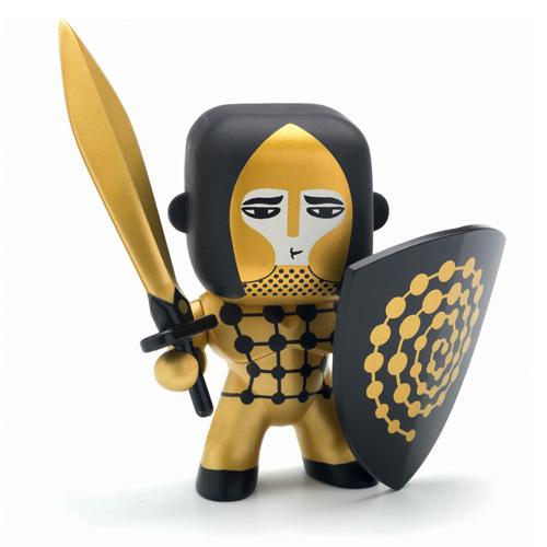 "Djeco Φιγούρα ιππότη ""Golden knight"""