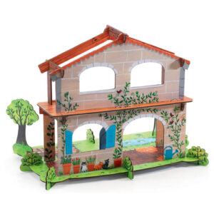 Djeco Τρισδιάστατη χάρτινη φάρμα με κήπο, χειροτεχνίες, χειροτεχνίες για παιδιά, κατασκευές, καλλιτεχνικά, εκπαιδευτικά παιχνίδια, παιδαγωγικά, εκπαιδευτικά, παιδαγωγικά παιχνίδια, djeco, παιχνιδια, πεχνιδια, paixnidia gia koritsia, παιχνιδια για παιδια, παιδικα παιχνιδια, djeco, djeco παιχνίδια, djeco παζλ, djeco online shop, παιχνίδια djeco αθήνα, djeco θεσσαλονικη, djeco 07706