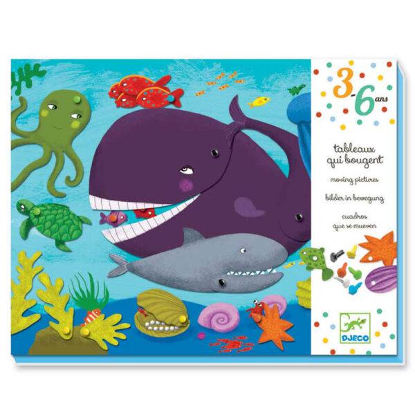 """Djeco Δημιουργία κινούμενης εικόνας """"Φάλαινα"""""""