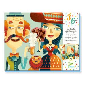 Djeco Δημιουργία κινούμενης εικόνας με κλιπ 'Πορτραίτα', χειροτεχνίες, χειροτεχνίες για παιδιά, κατασκευές, καλλιτεχνικά, εκπαιδευτικά παιχνίδια, ζωγραφική, ζωγραφιές, παιδαγωγικά, εκπαιδευτικά, παιδαγωγικά παιχνίδια, καλλιτεχνικά, παιχνιδια, πεχνιδια, paixnidia gia koritsia, παιχνιδια για αγορια, paixnidia gia agoria, παιχνιδια για παιδια, παιδικα παιχνιδια, djeco, djeco παιχνίδια, djeco παζλ, djeco online shop, παιχνίδια djeco αθήνα, djeco θεσσαλονικη, djeco 08973