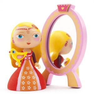 Djeco Φιγούρα πριγκίπισσας 'Nina' με καθρέφτη, φιγούρες, φιγούρα, φιγούρες Djeco, πριγκίπισσες Djeco, το ξύλινο αλογάκι, θρακομακεδόνες, toxilinoalogaki, δώρα, δώρο, παιδικά παιχνίδια, παιχνίδια, παιχνίδια για κορίτσια, djeco, djeco παιχνίδια, djeco παζλ, djeco online shop, παιχνίδια djeco αθήνα, djeco θεσσαλονικη, djeco 06761
