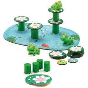 Djeco Το παιχνίδι των βατράχων πάνω στα νούφαρα, djeco, djeco 08554, επιτραπέζια παιχνίδια, επιτραπεζια, επιτραπεζια παιχνιδια, εκπαιδευτικά παιχνίδια, παιδαγωγικά παιχνίδια, παιδικά παιχνίδια, δώρα, δώρο, επιτραπέζια, παιχνίδια για κορίτσια, παιχνίδια για αγόρια