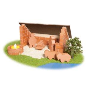 Teifoc Χτίζοντας Χριστουγεννιάτικη Φάτνη, teifoc, σετ κατασκευής, κατασκευή, κατασκευές, κατασκευες, κατασκευεσ, κατασκευη, φτιαξτο, παιδικες κατασκευες, ειδη χομπυ, kataskeues, teifoc 4400