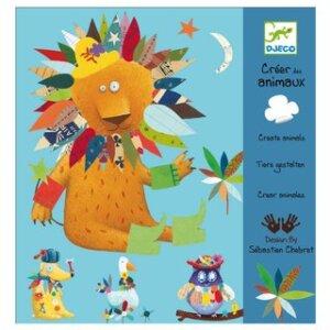 Djeco Δημιουργώ με αυτοκόλλητα 'Ζωάκια', χειροτεχνίες, χειροτεχνίες για παιδιά, κατασκευές, καλλιτεχνικά, εκπαιδευτικά παιχνίδια, ζωγραφική, ζωγραφιές, παιδαγωγικά, εκπαιδευτικά, παιδαγωγικά παιχνίδια, καλλιτεχνικά, παιχνιδια, πεχνιδια, paixnidia gia koritsia, παιχνιδια για αγορια, paixnidia gia agoria, παιχνιδια για παιδια, παιδικα παιχνιδια, djeco, djeco παιχνίδια, djeco παζλ, djeco online shop, παιχνίδια djeco αθήνα, djeco θεσσαλονικη, djeco 08932