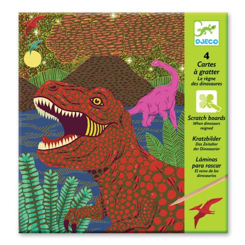"Djeco Ανακαλύπτω ξύνοντας την εικόνα ""Δεινόσαυροι"""