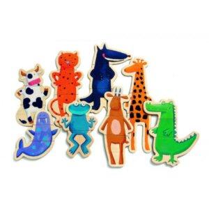 Djeco Ξύλινα Μαγνητάκια 'Τρελοζωάκια', εκπαιδευτικά παιχνίδια, παιδαγωγικά παιχνίδια, παιδικά παιχνίδια, δώρα, δώρο, επιτραπέζια, παιχνίδια για κορίτσια, παιχνίδια για αγόρια, παιδικά παιχνίδια, δώρα, δώρο, επιτραπέζια, παιχνίδια για κορίτσια, παιχνίδια για αγόρια, djeco, djeco παιχνίδια, djeco παζλ, djeco online shop, παιχνίδια djeco αθήνα, djeco θεσσαλονικη, djeco 03111