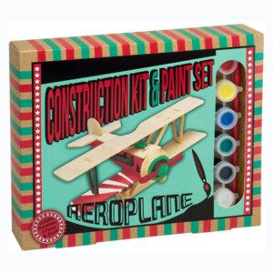 Ξύλινη κατασκευή Aeroplane Construction Kit & Paint Set, Μαθηματική Βιβλιοθήκη, mathimatiki vivliothiki, κατασκευές, παιδικές κατασκευές, παιδικες κατασκευες, κατασκευες για παιδια, χειροτεχνιες, παιχνιδια για αγορια, παιχνιδια για παιδια, παιδικα παιχνιδια, ξύλινα παιχνίδια, παιχνίδια, παιχνιδια, παιχνιδια για κοριτσια, σπαζοκεφαλιές, δωρα, δώρα, δώρο, δωρο, επιτραπεζια, εποχιακα, CP-1