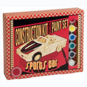 Ξύλινη Κατασκευή Sports Car Construction Kit & Paint Set, Μαθηματική Βιβλιοθήκη, mathimatiki vivliothiki, κατασκευές, παιδικές κατασκευές, παιδικες κατασκευες, κατασκευες για παιδια, χειροτεχνιες, παιχνιδια για αγορια, παιχνιδια για παιδια, παιδικα παιχνιδια, ξύλινα παιχνίδια, παιχνίδια, παιχνιδια, παιχνιδια για κοριτσια, σπαζοκεφαλιές, δωρα, δώρα, δώρο, δωρο, επιτραπεζια, εποχιακα, CP-2