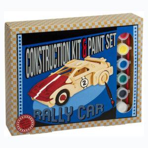 Ξύλινη κατασκευή Rally Car Construction Kit & Paint Set, Μαθηματική Βιβλιοθήκη, mathimatiki vivliothiki, κατασκευές, παιδικές κατασκευές, παιδικες κατασκευες, κατασκευες για παιδια, χειροτεχνιες, παιχνιδια για αγορια, παιχνιδια για παιδια, παιδικα παιχνιδια, ξύλινα παιχνίδια, παιχνίδια, παιχνιδια, παιχνιδια για κοριτσια, σπαζοκεφαλιές, δωρα, δώρα, δώρο, δωρο, επιτραπεζια, εποχιακα, CP-3