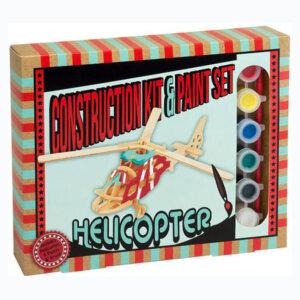 Ξύλινη κατασκευή Helicopter Construction Kit & Paint Set, Μαθηματική Βιβλιοθήκη, mathimatiki vivliothiki, κατασκευές, παιδικές κατασκευές, παιδικες κατασκευες, κατασκευες για παιδια, χειροτεχνιες, παιχνιδια για αγορια, παιχνιδια για παιδια, παιδικα παιχνιδια, ξύλινα παιχνίδια, παιχνίδια, παιχνιδια, παιχνιδια για κοριτσια, σπαζοκεφαλιές, δωρα, δώρα, δώρο, δωρο, επιτραπεζια, εποχιακα, CP-5