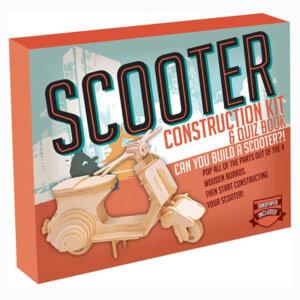 Ξύλινη Κατασκευή Scooter Construction Kit & Quiz Book, Μαθηματική Βιβλιοθήκη, mathimatiki vivliothiki, κατασκευές, παιδικές κατασκευές, παιδικες κατασκευες, κατασκευες για παιδια, χειροτεχνιες, παιχνιδια για αγορια, παιχνιδια για παιδια, παιδικα παιχνιδια, ξύλινα παιχνίδια, παιχνίδια, παιχνιδια, παιχνιδια για κοριτσια, σπαζοκεφαλιές, δωρα, δώρα, δώρο, δωρο, επιτραπεζια, εποχιακα, CR-8