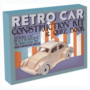 Ξύλινη Κατασκευή Retro Car Construction Kit & Quiz Book, Μαθηματική Βιβλιοθήκη, mathimatiki vivliothiki, κατασκευές, παιδικές κατασκευές, παιδικες κατασκευες, κατασκευες για παιδια, χειροτεχνιες, παιχνιδια για αγορια, παιχνιδια για παιδια, παιδικα παιχνιδια, ξύλινα παιχνίδια, παιχνίδια, παιχνιδια, παιχνιδια για κοριτσια, σπαζοκεφαλιές, δωρα, δώρα, δώρο, δωρο, επιτραπεζια, εποχιακα, CR-7