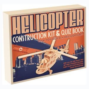 Ξύλινη Κατασκευή Helicopter Construction Kit & Quiz Book, Μαθηματική Βιβλιοθήκη, mathimatiki vivliothiki, κατασκευές, παιδικές κατασκευές, παιδικες κατασκευες, κατασκευες για παιδια, χειροτεχνιες, παιχνιδια για αγορια, παιχνιδια για παιδια, παιδικα παιχνιδια, ξύλινα παιχνίδια, παιχνίδια, παιχνιδια, παιχνιδια για κοριτσια, σπαζοκεφαλιές, δωρα, δώρα, δώρο, δωρο, επιτραπεζια, εποχιακα, CR-5