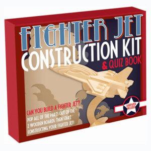 Ξύλινη Κατασκευή Fighter Jet Construction Kit & Quiz Book, Μαθηματική Βιβλιοθήκη, mathimatiki vivliothiki, κατασκευές, παιδικές κατασκευές, παιδικες κατασκευες, κατασκευες για παιδια, χειροτεχνιες, παιχνιδια για αγορια, παιχνιδια για παιδια, παιδικα παιχνιδια, ξύλινα παιχνίδια, παιχνίδια, παιχνιδια, παιχνιδια για κοριτσια, σπαζοκεφαλιές, δωρα, δώρα, δώρο, δωρο, επιτραπεζια, εποχιακα, CR-1