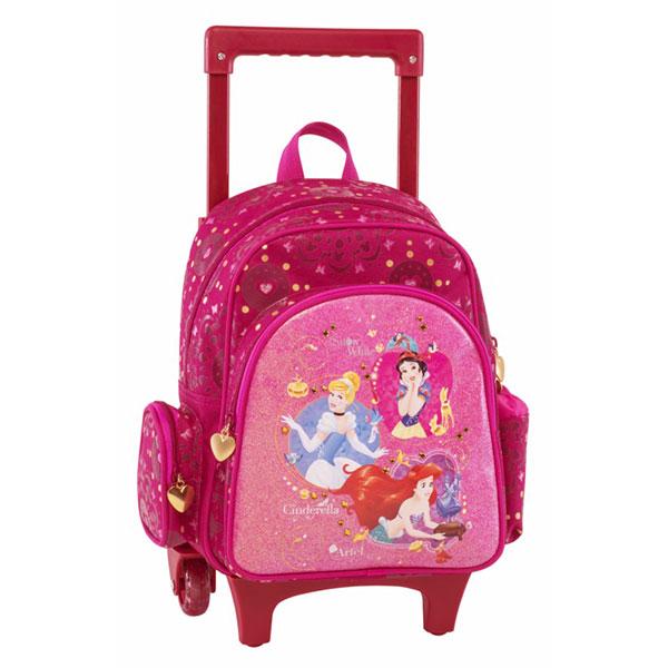 e24106c7154 Princess Σχολική Τσάντα Νηπιαγωγείου Trolley | Το Ξύλινο Αλογάκι ...