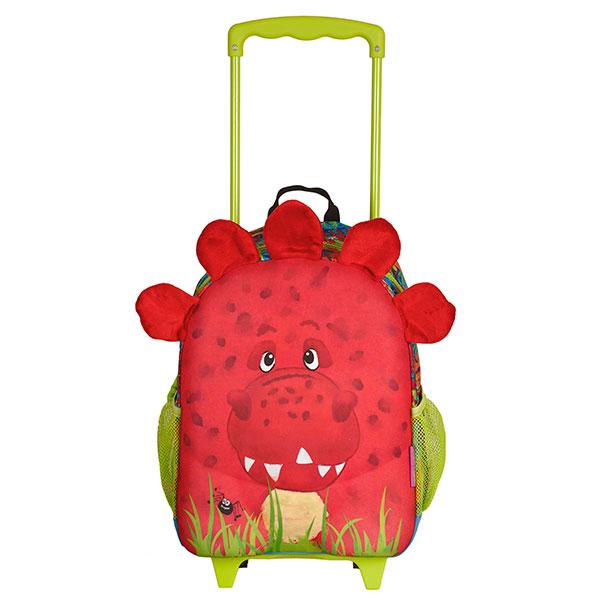 Okiedog Τσάντα – trolley προσχολική «Dino»