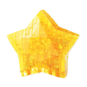 Crystal Puzzle Yellow Star 3D, 3D παζλ, 3D puzzle, 3D pazl, παζλ, pazl, puzzle, 3D puzzle, 3D παζλ, παζλ, puzzles, τανκ 3D, Mathimatiki Vivliothiki, παιδικά παιχνίδια, παιχνίδια, παιχνιδια, παιχνίδια για κορίτσια, παιχνίδια για αγόρια, επιτραπέζια, παιχνίδια με παζλ, δώρα, δώρο, crystal puzzle 90008