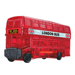 Crystal Puzzle London Bus 3D, 3D παζλ, 3D puzzle, 3D pazl, παζλ, pazl, puzzle, 3D puzzle, 3D παζλ, παζλ, puzzles, τανκ 3D, Mathimatiki Vivliothiki, παιδικά παιχνίδια, παιχνίδια, παιχνιδια, παιχνίδια για κορίτσια, παιχνίδια για αγόρια, επιτραπέζια, παιχνίδια με παζλ, δώρα, δώρο, crystal puzzle 90129