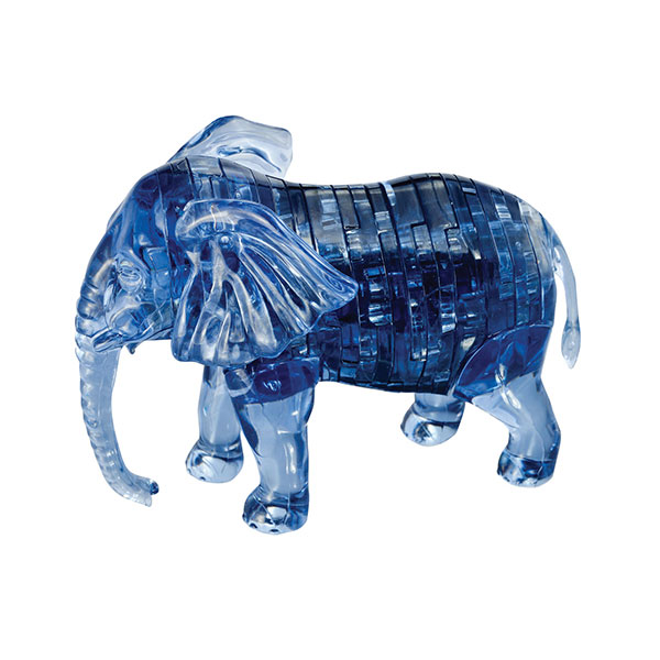 Crystal Puzzle Elephant 3D