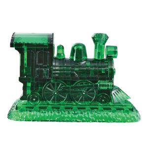 Crystal Puzzle Steam Locomotive Green 3D, 3D παζλ, 3D puzzle, 3D pazl, παζλ, pazl, puzzle, 3D puzzle, 3D παζλ, παζλ, puzzles, τανκ 3D, Mathimatiki Vivliothiki, παιδικά παιχνίδια, παιχνίδια, παιχνιδια, παιχνίδια για κορίτσια, παιχνίδια για αγόρια, επιτραπέζια, παιχνίδια με παζλ, δώρα, δώρο, crystal puzzle 90244